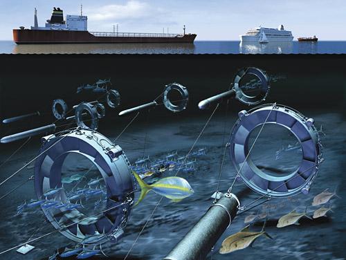 Hydrolienne à turbine libre