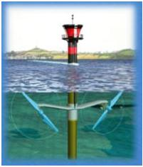 Hydrolienne à axe horizontal - Seagen